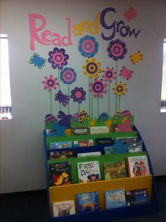 Easter library display