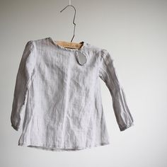Kids line Natural look cotton shirt for girls and by DoroTheus, €30.00