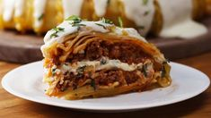 TASTY Get the recipe here! - Shop the Tasty kitchenware collection here: Check us out on. Pasta Recipes, Appetizer Recipes, Dessert Recipes, Yummy Recipes, Keto Lasagna, No Noodle Lasagna, Tasty, Yummy Food, Mediterranean Diet Recipes