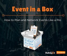 This ebook from HubSpot & Eventbrite will help you plan events and network like a pro. Today's A New Day, Exhibition Ideas, Promote Your Business, Trade Show, How To Know, Event Planning, Badge, Ebooks, Hacks