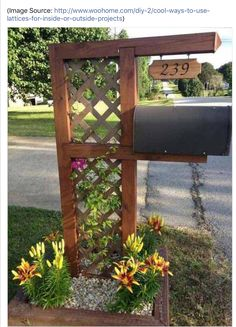 Mail box deco