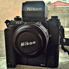 You don't see these everyday. The Nikon F3 AF 35mm SLR. Another shot of the rare beast from @abufishing  Working on the platform of the excellent F3, Nikon added auto focus to keep it up to date.