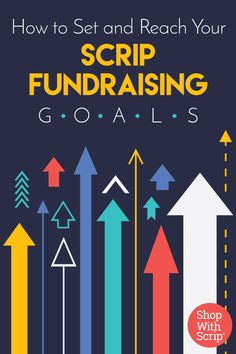 Are you getting a scrip fundraiser underway? Make sure you set some concrete goals!