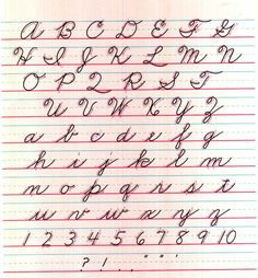 Cursive Letters AZ  Already Matched Cursive Letter Z Cursive