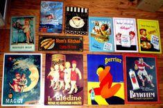 Online veilinghuis Catawiki: Lot van 11 reclameborden eind 20e eeuw
