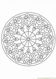 free printable coloring page Kaleidoscope (Other > kaleidoscope ) Find awesome coloring pages at TheColoringBarn.com!