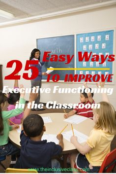 Teaching Students Organization 25 Easy Ways to Improve Executive Functioning in the Classroom