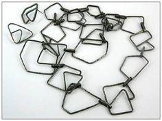 Oxidised silver chain - Maggie Bergman