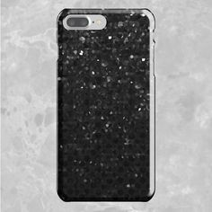 SOLD iPhone 7 Plus Case Black Crystal Bling Strass G283 https://www.redbubble.com/people/medusa81/works/13490842-black-crystal-bling-strass-g283?asc=u&p=iphone-case&rel=carousel #Redbubble #iPhone7 #Plus #Case #Black #Crystal #Bling #Strass