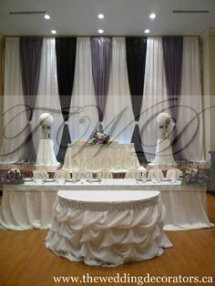 how to drape a cinderella table cloth - Google Search
