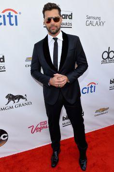 Ricky Martin rocking AZATURE Fine Jewelry at the #BBMA's