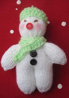 Snowman In Green - £4
