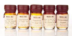 Master of Malt, Drinks by the Dram Sample Set — The Dieline - Package Design Resource