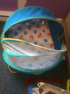outdoor screened in baby bed in noodle's Garage Sale in Accord , NY for $20. this is great for out doors or inside to keep pets away.