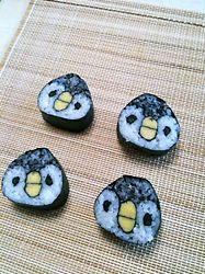 penguin sushi roll