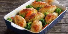 Μπιφτέκια ψαριού | BriefingNews Baked Potato, Kai, Beverages, Potatoes, Baking, Vegetables, Ethnic Recipes, Food, Bread Making