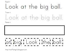 Pre-Primer Sight Word Printables!