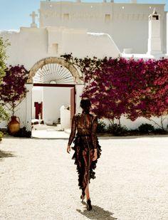 Irina In The Sun Of Italy : Irina Shayk by Giampaolo Sgura for Vogue Japan September 2016 - Balmain