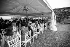 © We Do Weddings by A&J All rights reserved The guests admiring the bridal entrance! another beautiful shot by our photographer Matteo!