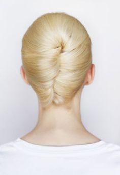 French Twist - new company hair