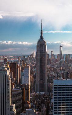 Empire State Building symbolic for having a fashion empire