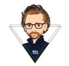 #TomHiddleston #Loki #Avengers: #InfinityWar. Artwork by @TRAUM_WORKROOM