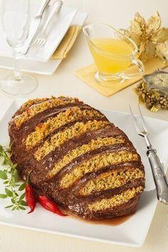 Coxão mole campestre com farofa e calda de maçã por Academia da carne Friboi