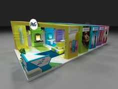 P&G Booth on Behance