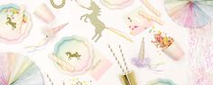 We Heart Unicorn Party Supplies