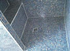 Salle de bain on pinterest merlin bathroom and ikea - Carrelage sol douche italienne ...
