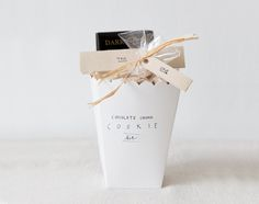 DIY chocolate chunk cookie kit