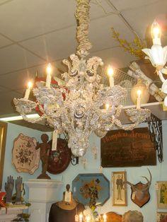 My Booth at the Agoura Antique Mart, Agoura California