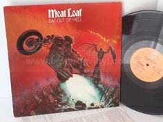 MEAT LOAF bat out of hell - ROCK, PSYCH, PROG, POP, SHOE GAZING, BEAT Background Noise, Meat Loaf, Describe Me, Psych, How Are You Feeling, Shoe, Rock, Cover, Zapatos