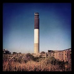 Oak Island Lighthouse in Oak Island, NC