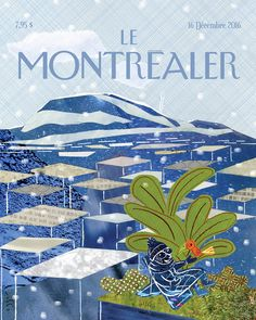 The New Yorker, New Yorker Covers, Ocelot, Marianne, Magazine Art, Magazine Covers, Michel, Book Design, Illustration