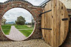 Moon Gate at Blackwell Grange Cotswold Wedding Venue