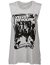 New Recycled Karma Womens VELVET REVOLVER Slouchy Band Tank Top Muscle Tee online. Find the perfect Ellos Tops-Tees from top store. Sku GODG84834FFKD41043