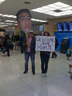 Face-Off is listed (or ranked) 9 on the list Amazingly Epic Airport Pickup Signs Funny Welcome Home Signs, Airport Welcome Signs, Welcome Back Home, Funny Signs, Funny Airport Signs, Missionary Homecoming, Homecoming Signs, Military Homecoming, Video Games For Kids