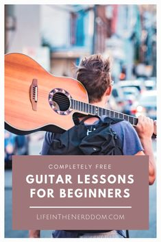 Don't pay hundreds of dollars for private lessons when there are sites offering professional lessons free! Here's our list of completely FREE Guitar Lessons for Beginners and Kids at LifeInTheNerddom. Guitar Lessons For Kids, Guitar Lessons For Beginners, Piano Lessons, Learn Acoustic Guitar, Learn To Play Guitar, Learn Guitar Beginner, Teach Yourself Guitar, Acoustic Guitars, Guitar Tips