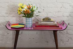 Decoração de: Detalhes; mesa rosa; Casa de Valentina