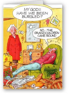 Wrinklies - Burgled