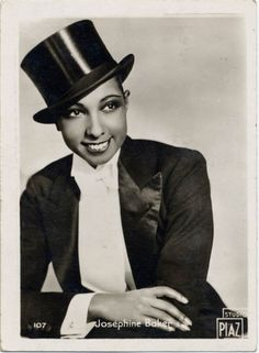 Josephine Baker -- beauty, talent and determination to succeed when she wasn't allowed to in her native country. (More pictures when you click through.)