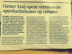 De parel van de Campus  glanst weer!