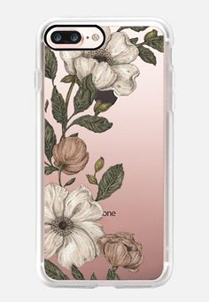 iPhone 7 Case Floral Laurel by Jessica Roux Iphone 7 Cases Floral, Iphone 6 Cases Clear, Cute Iphone 7 Cases, Ipod Touch 6 Cases, Iphone 6 Covers, Iphone 6 Plus Case, Apple Watch Iphone, Tech Accessories, Casetify