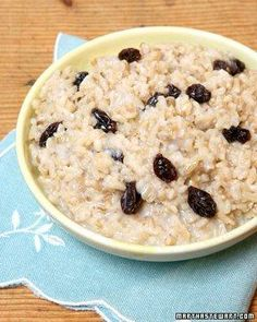 Whole Grain Goodness // Martha's Favorite Oatmeal Recipe