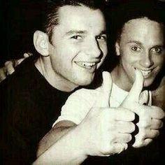 Dave Gahan, Martin Gore, Gahore of Depeche Mode