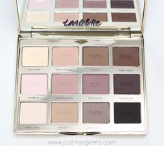 One of my favorite matte palettes combines neutrals and purples all in one! This is a must have by Tarte Cosmetics!