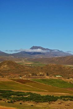 Views from the hill Cape Dutch, Grape Vines, Countryside, South Africa, The Row, Mountains, Landscape, Photos, Photography