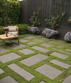 Image result for grass and stone terrace