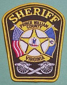 LOUDOUN COUNTY VIRGINIA VA colorful SHERIFF POLICE PATCH